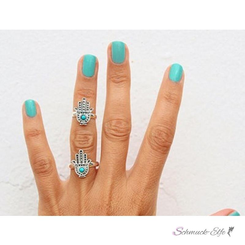 Ohrringe hand der fatima