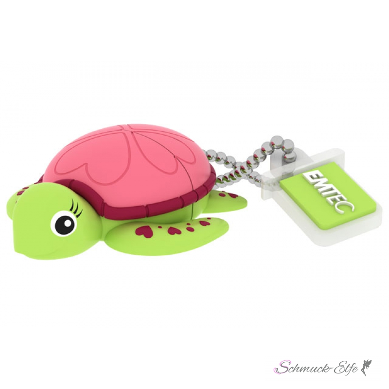 2 0 usb stick 8gb turtle lady flash drive von emtec 38 19 chf. Black Bedroom Furniture Sets. Home Design Ideas