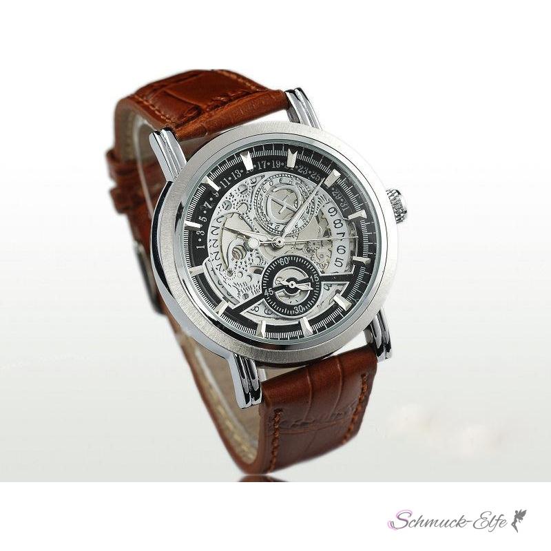 Armbanduhr herren braun