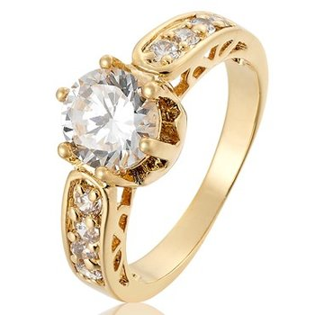 Ring Diamonds are forever mit  Rosegold vergoldet im Etui...