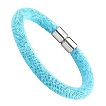 Armband Flying Diamond Aqua Glam  mit Magnetverschluss