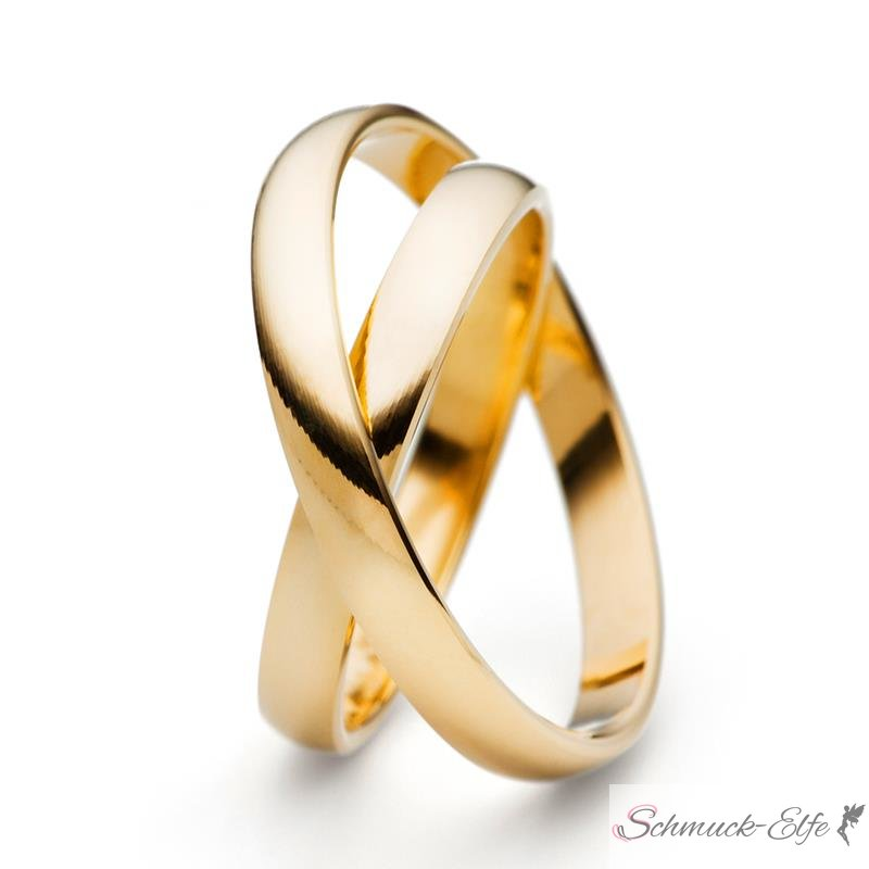 333 Gold SET Eheringe / Trauringe / Partnerring...