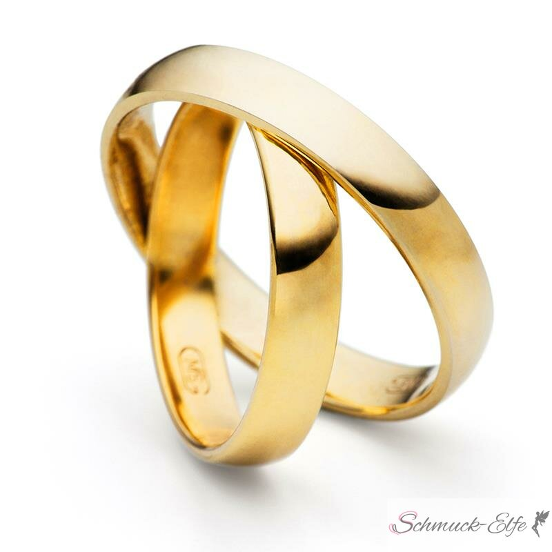 585 Gold SET Eheringe / Trauringe / Partnerring...