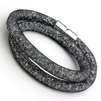 2 in 1 Choker Collier & Wickel Armband Flying Diamond...