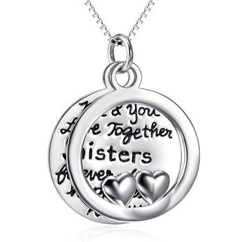 Anhänger 2tlg. Amulett  Me & You Love Together Sisters...