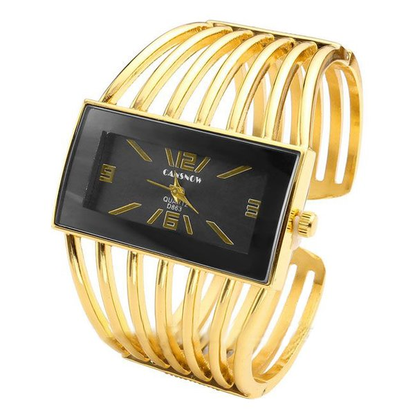 spangen damen armbanduhr black mamba gold 39 99. Black Bedroom Furniture Sets. Home Design Ideas