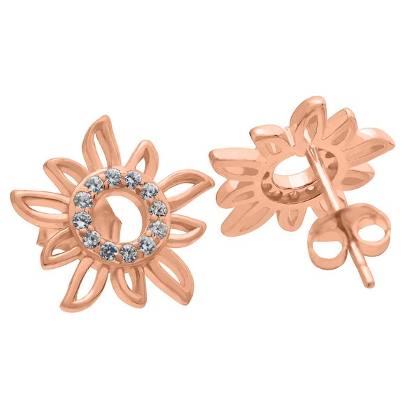 Stud Earrings Sol Summer Breeze 925 Silver rosegold