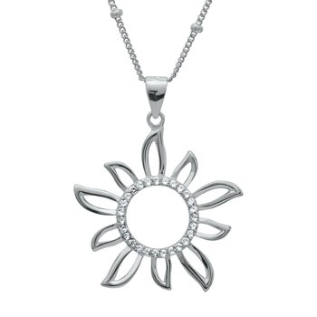Kette mit Anhänger Sol Miracle 925 Silber