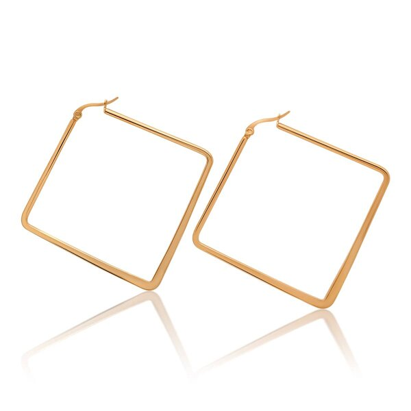 Hoops Square rosegolden