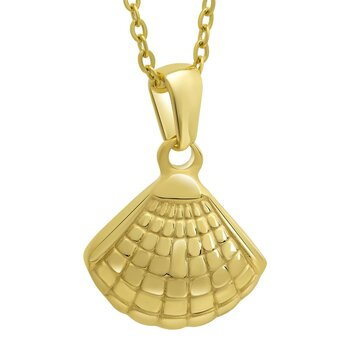 Pendant Seashell golden
